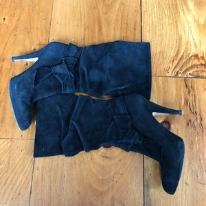 Joan & David | Suede slouch boots